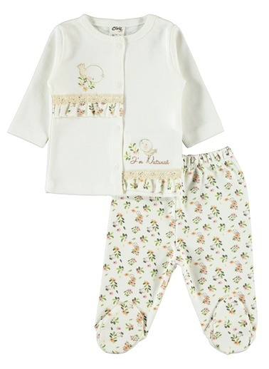 Civil Baby Erkek Bebek Takım Ekru